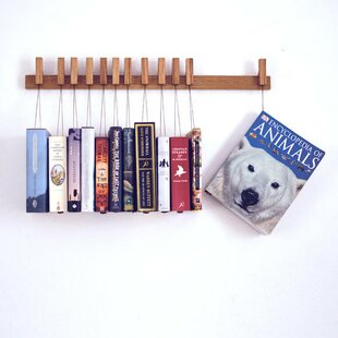 Hans Book Rack Wall Hook By Natur Pur