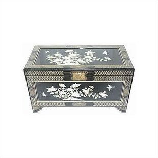 World Menagerie Camille Birds and Flowers Trunk
