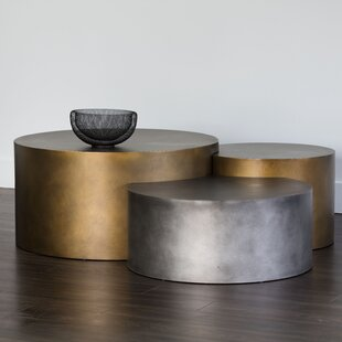 Ikon 3 Piece Coffee Table Set Sunpan Modern