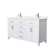 Beckett 60 Double Bathroom Vanity Set by Wyndham Collection