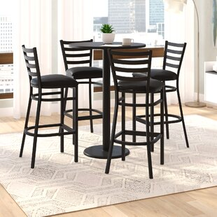 Turcios 5 Piece Pub Height Dining Set Wade Logan