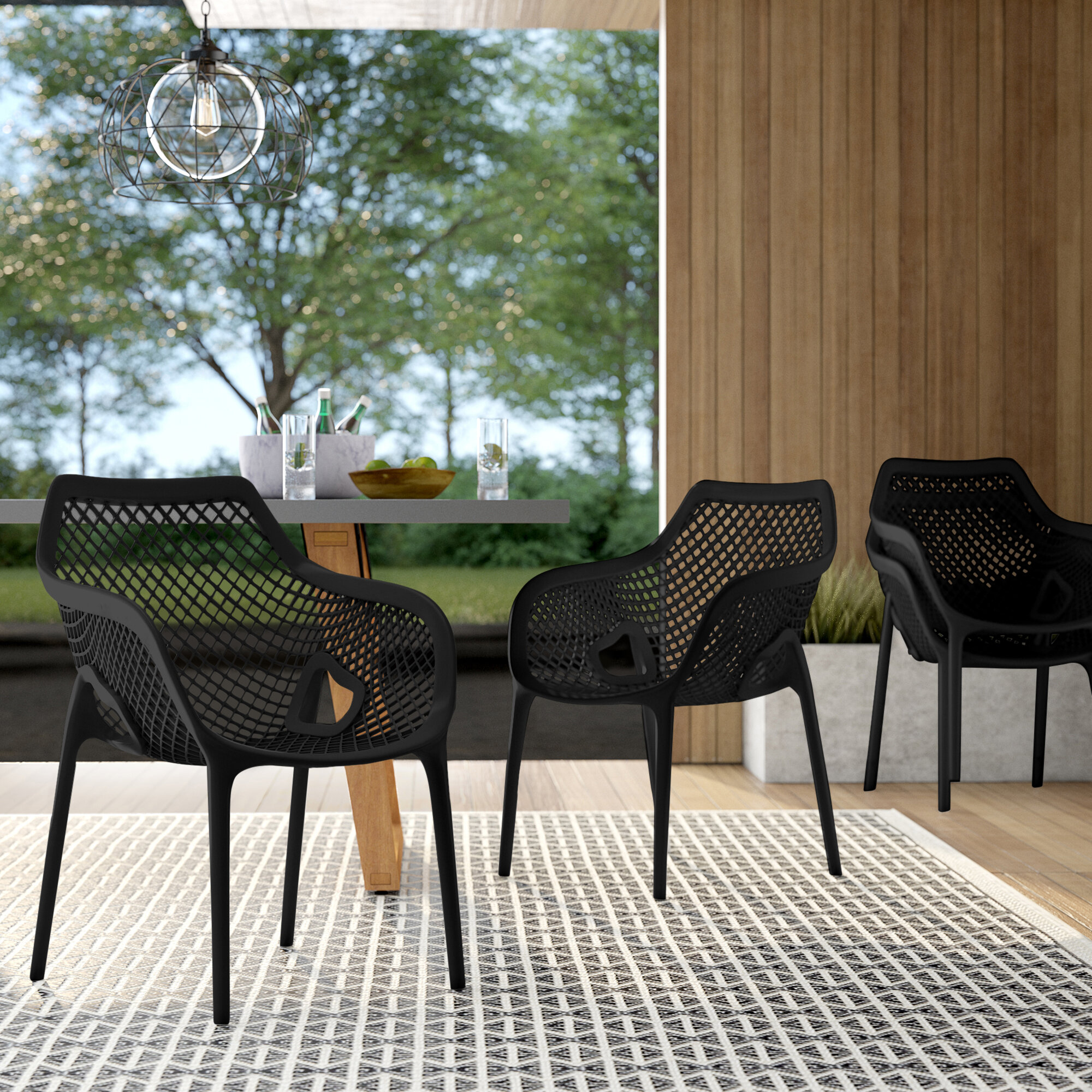 Mercury Row Patio Dining Chairs You Ll Love In 2021 Wayfair