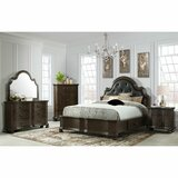 Menachem Queen Standard Solid Wood Configurable Bedroom Set by Canora Grey