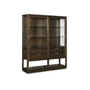 Runway Fibers Sliding Door Bar Cabinet by Fine Furniture Design