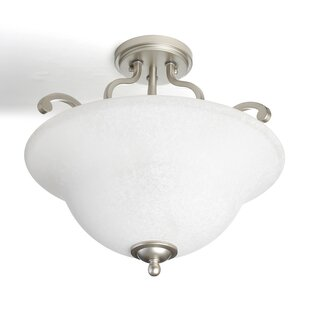 Camerena 3 Light Semi Flush Mount by Kichler