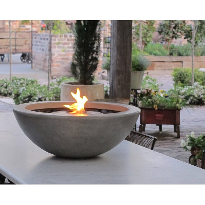 Mix Stainless Steel Bio Ethanol Fuel Fire Pit