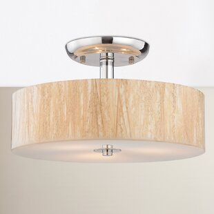Jose 3-Light Semi Flush Mount ..