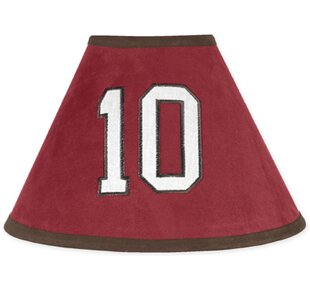 All Star Sports 10 Microsuede Empire Lamp Shade