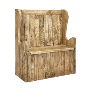 Hansen Wood Storage Bench By Union Rustic