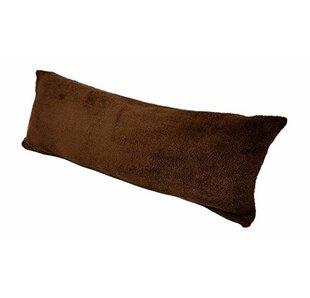 Body Pillow with Super Soft Sherpa/Microplush Zippered Pillowcase ByAlwyn Home