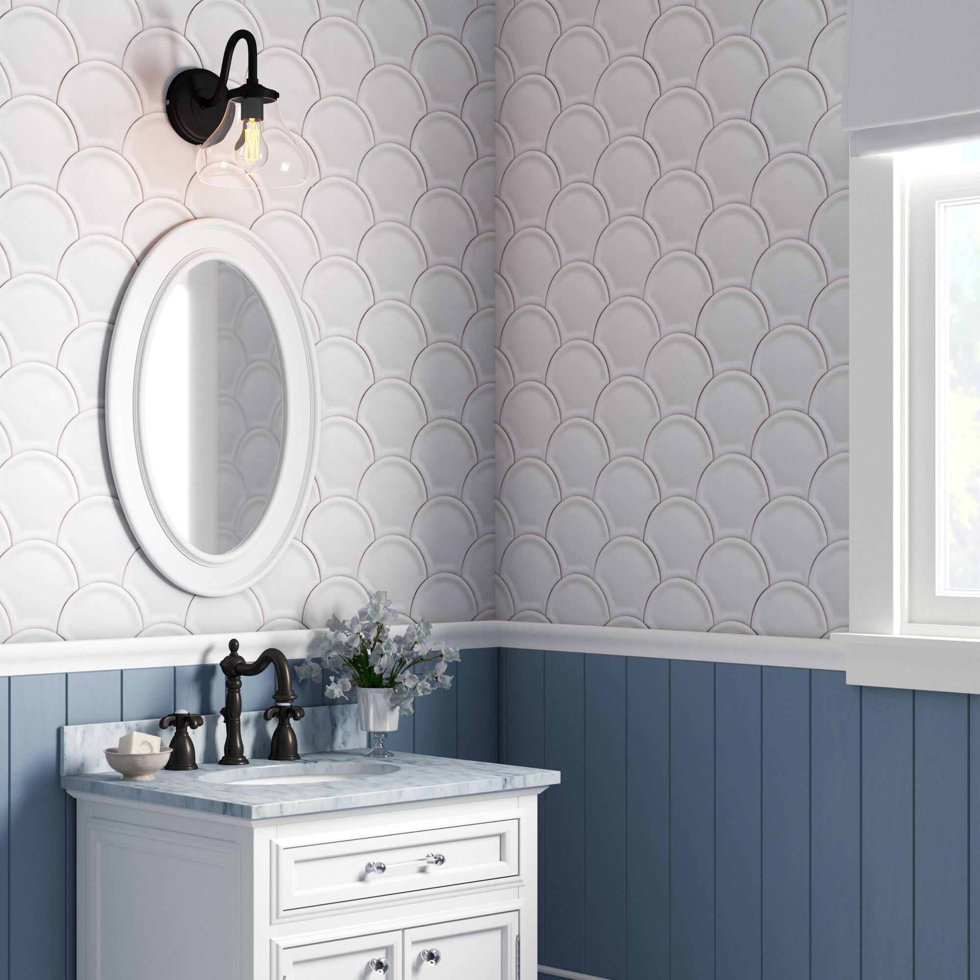 "4 x 4.4"" Scales Tiles Wallpaper"