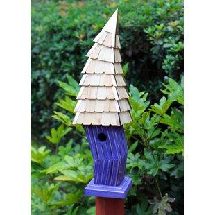Heartwood Birdiwampus 38 in x 8 in 8 in Birdhouse