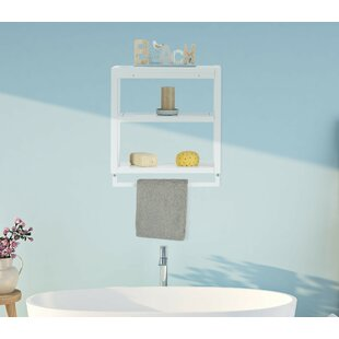 Review 52 X 59cm Bathroom Shelf