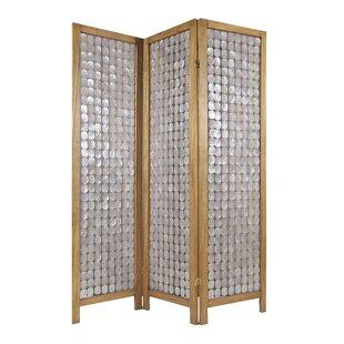 Bayou Breeze Kucera 3 Panel Room Divider