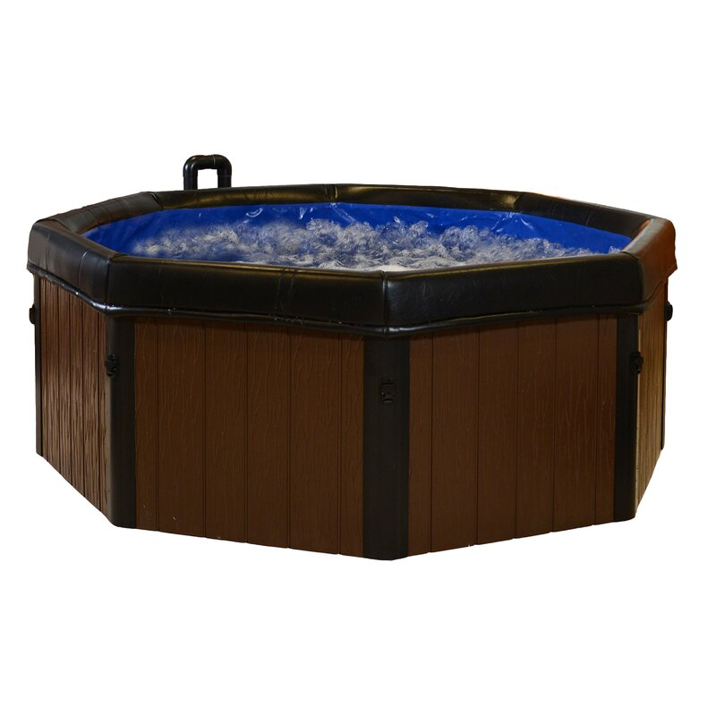 Comfort Line Products Spa-N-A-Box 5-Person 120-Jet Plug and Play Spa ...