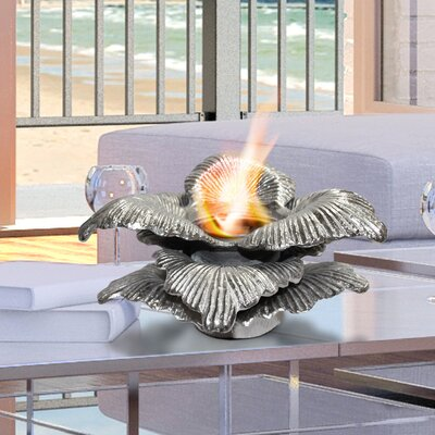 Chatsworth Botanical Gel Fuel Tabletop Fireplace Anywhere Fireplace