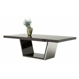 Orren Ellis Clower Metal Top Dining Table