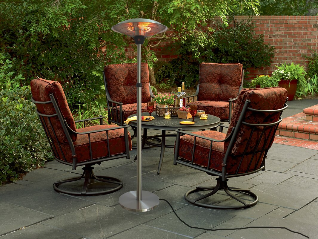 ... Living Accents Patio Heater Inferno By 100 Pyramid Patio Heater 12  Color Led Light Show ...