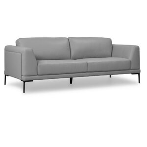 Joachim Top Grain Contemporary Sofa by Orren Ellis