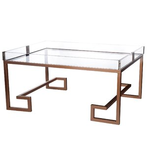Russell Coffee Table with Tray by Mercer41