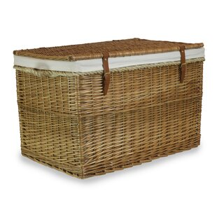Josef Light Steamed Hamper Trunk With Lining By August Grove