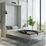 Leavenworth Murphy Bed with Mattress by Orren Ellis