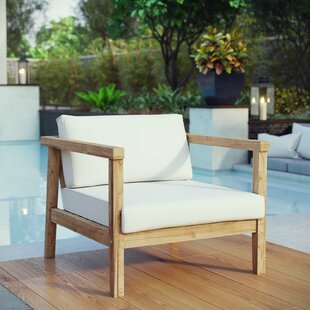 Bayou Breeze Edmeston Outdoor Teak Chair ..