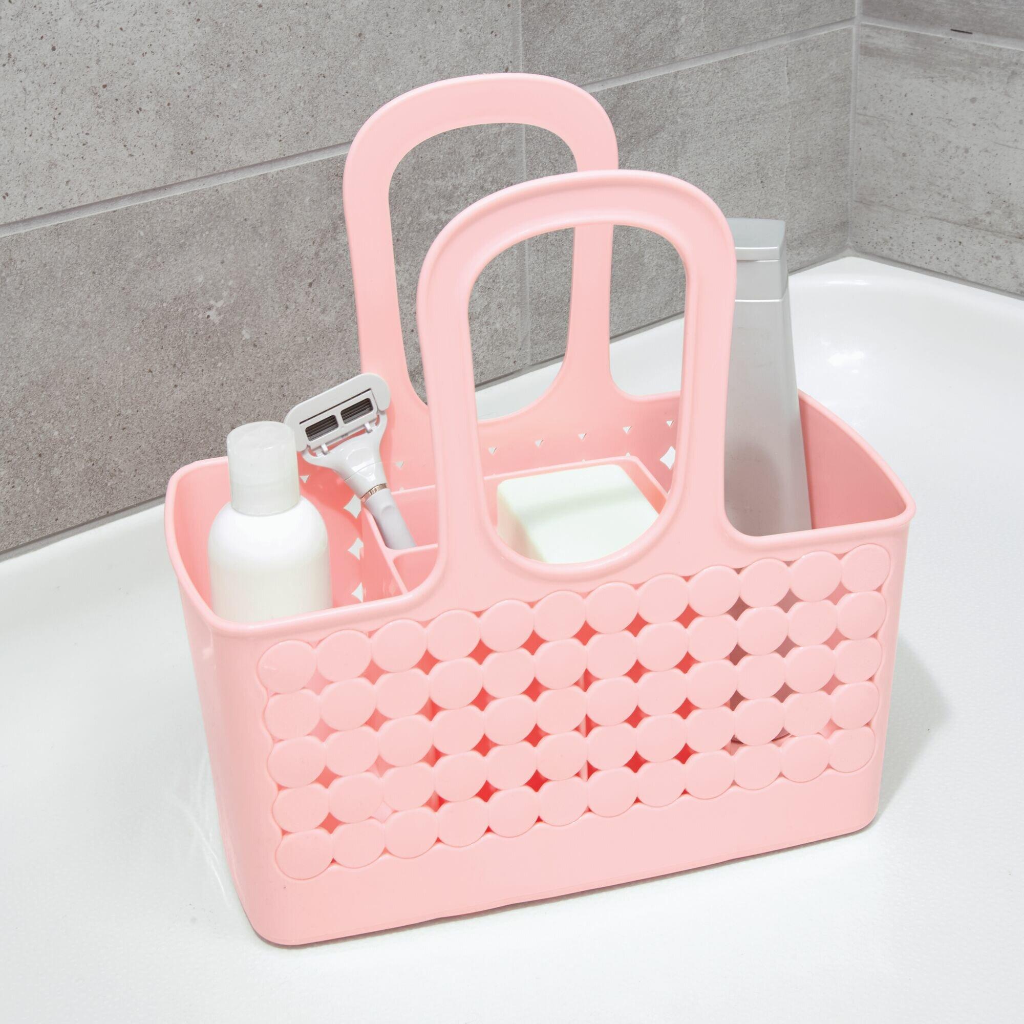 Idesign Orbz Divided Portable Shower Caddy Reviews Wayfair