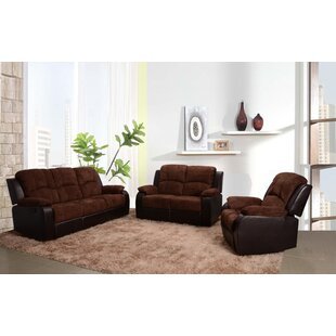 Pamela 3 Piece Living Room Set