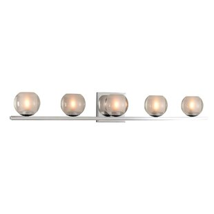 Kalco Corona 5-Light LED Vanity Light