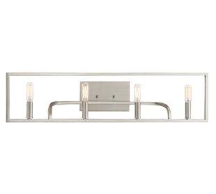 Bellicent 4-Light Vanity Light by Wrought Studio