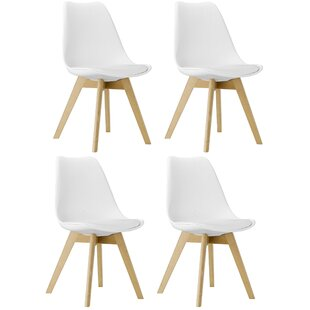 Goings Upholstered Dining Chair (Set of 4) by Wrought Studio