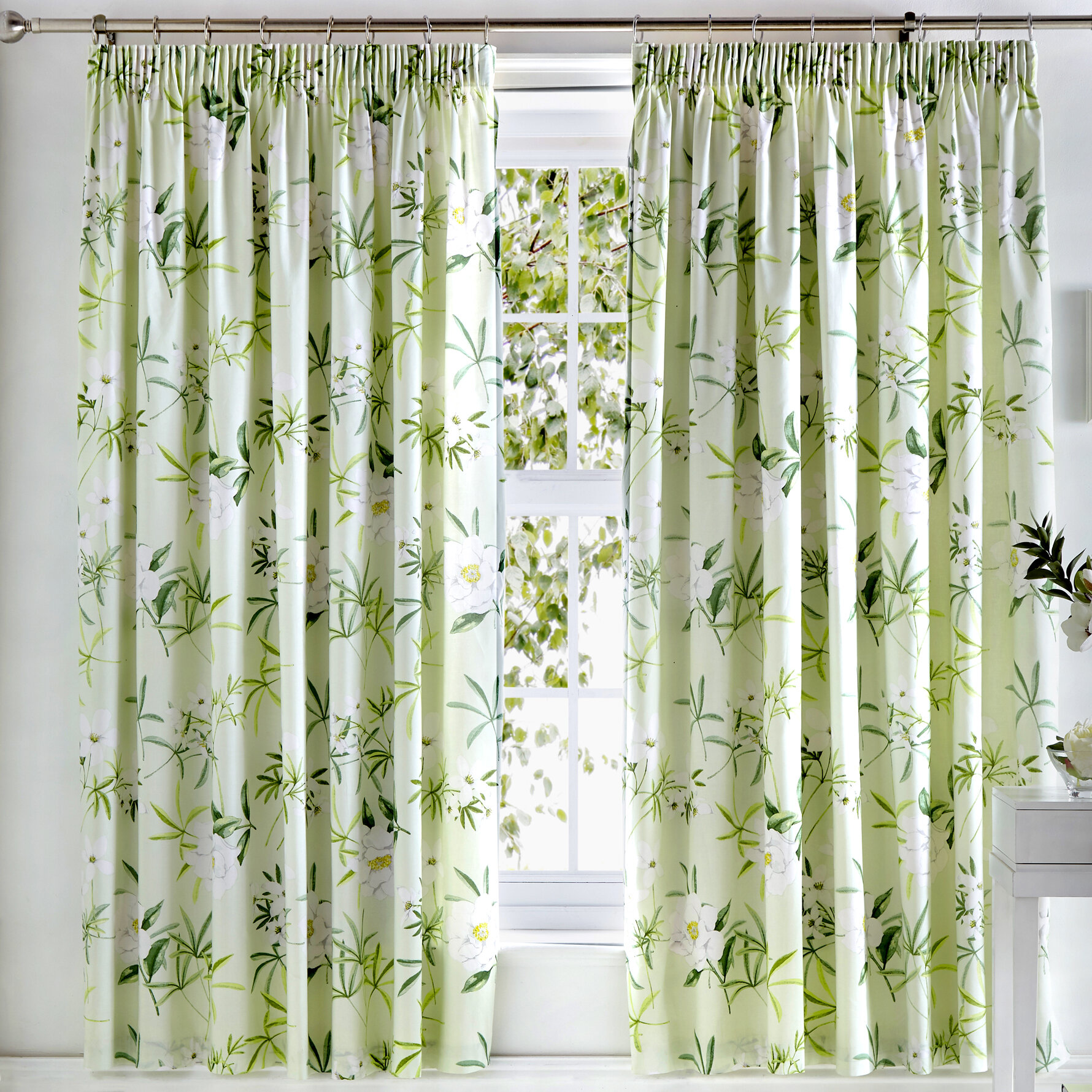 krausgrill pencil pleat room darkening curtains