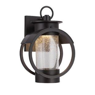 Schreiner 1-Light Outdoor Wall Lantern by Breakwater Bay
