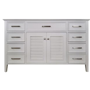 Ferree 55 Single Bathroom Vanity Base by Highland Dunes