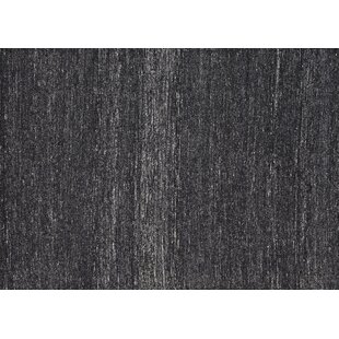 Price Check Berchmans Hand-Woven Black/Gray Area Rug ByFoundry Select