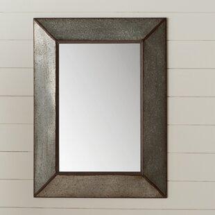 adorable large rectangular bathroom mirror. Rectangle Antique Galvanized Metal Accent Mirror Farmhouse Mirrors  Birch Lane