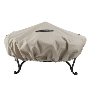 Round Water Resistant Fire Pit Cover