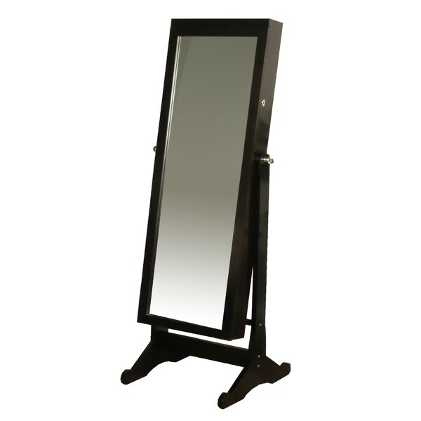 standing mirror jewelry armoire amazon walmart black friday reviews cheval white