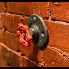 Industrial Valve Wall Hook by West Ninth Vintage