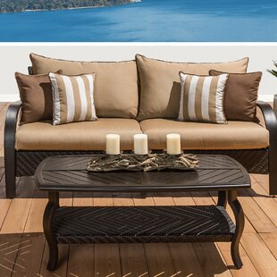 Brayden Studio Cumberland 2 Piece Sunbrella Sectional Set with Cushions