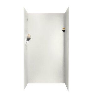 Elegant Three Panel Shower Wall