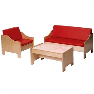 Best Price Kids 3 Piece Table and Chair Set By Angeles