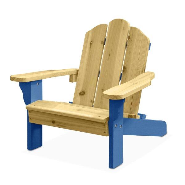 Harriet Bee Garett Kids Plastic Adirondack Chair U0026 Reviews | Wayfair