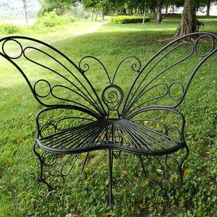 Butterfly Metal Garden Chair by Hi-Line Gift Ltd.