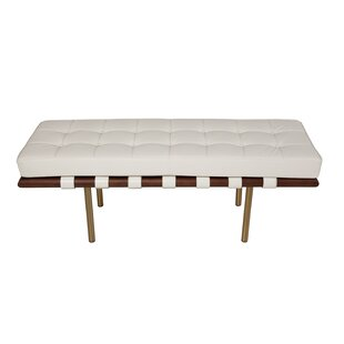 Supriya Upholstered Wood Bench