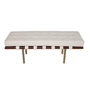 Supriya Upholstered Wood Bench