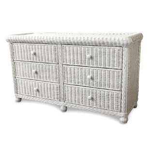 Watkins 6 Drawer Double Dresser