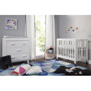 Mini Crib With Changing Table Wayfair