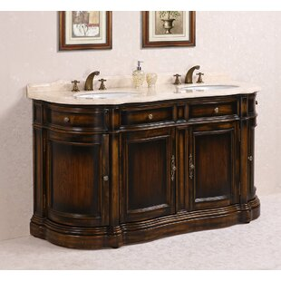 66 Inch Double Sink Vanity. 66  Double Bathroom Vanity Set Wayfair